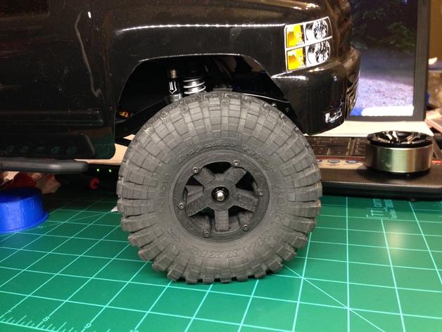 Jante Beadlock 1.9 en 3D pour Scale et Crawler M5a10