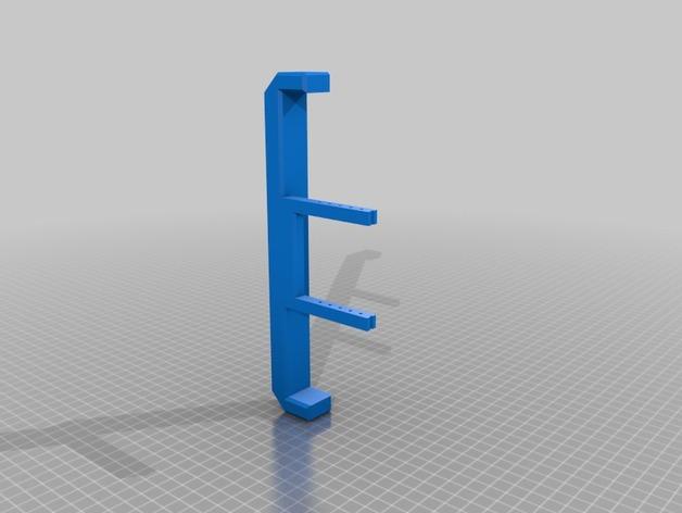 Parechoc 3D avec Attache Remorque 3D pour Scx10 et autres Scale et Crawler 1/10 M5a11