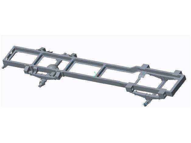 Chassis 3D pour Scale et Crawler 1/10 M5a14