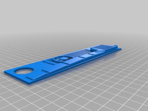Radiateur 3D pour Scx10 et tout Scale et Crawler 1/10 M5b14