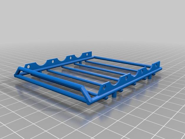 Galerie de toit 3D et Porte Bagage 3D pour Scale et Crawler 1/10 M5bjpg10