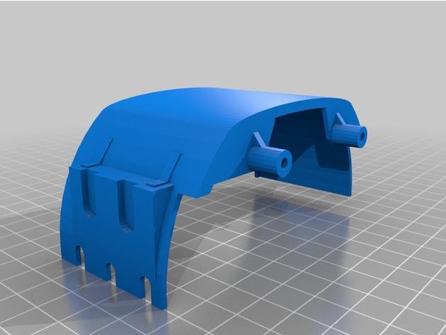 Garde Boue 3D et Passage de Roue 3D pour Scale et Crawler 1/10 M5c11