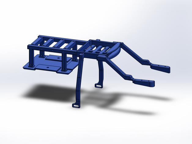Support de Batterie 3D ou Support d'Accus 3D pour Scale et Crawler 1/10 M6a15