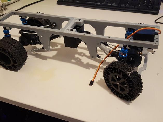 Chassis 3D pour Scale et Crawler 1/10 M6a16