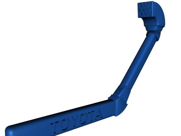 Echappement 3D ou Snorkel 3D pour Scale et Crawler 1/10 M6b13