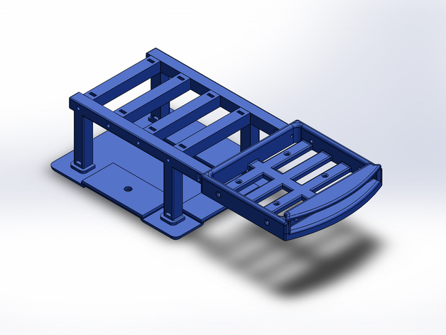 Support de Batterie 3D ou Support d'Accus 3D pour Scale et Crawler 1/10 M6b14