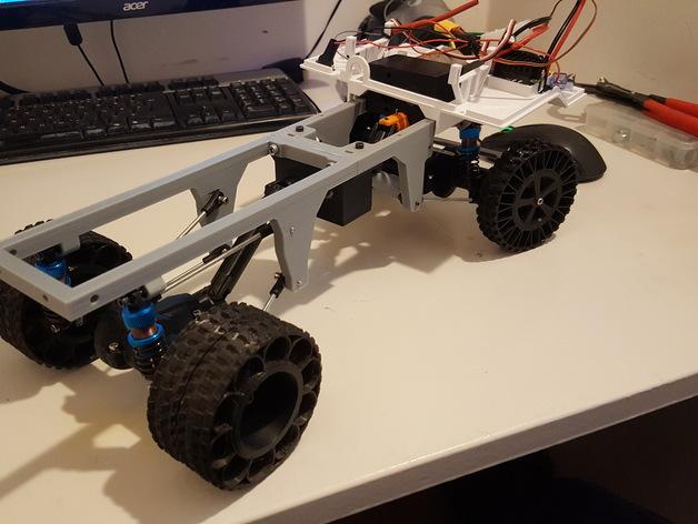 Chassis 3D pour Scale et Crawler 1/10 M6b15