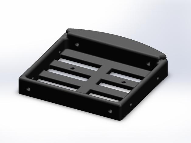 Support de Batterie 3D ou Support d'Accus 3D pour Scale et Crawler 1/10 M6d10