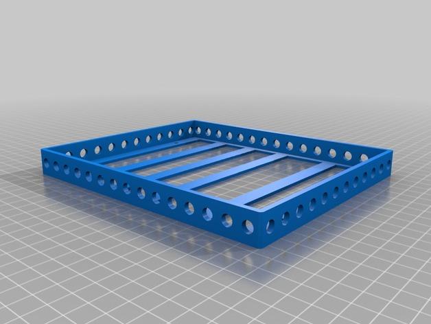 Galerie de toit 3D et Porte Bagage 3D pour Scale et Crawler 1/10 M7a12