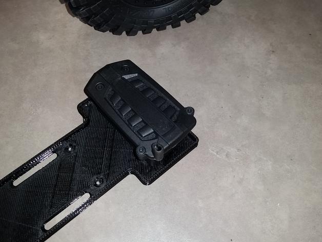 Support de Batterie 3D ou Support d'Accus 3D pour Scale et Crawler 1/10 M7b12