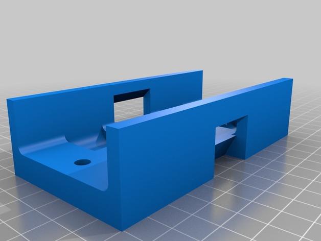 Support de Batterie 3D ou Support d'Accus 3D pour Scale et Crawler 1/10 M7b14