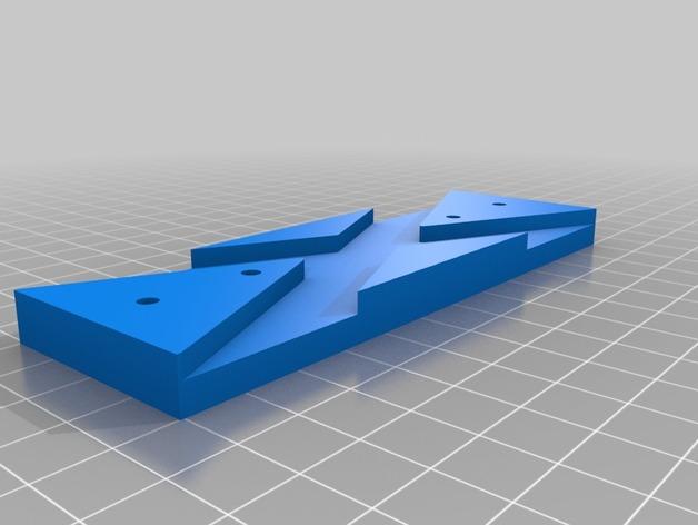 Support de Batterie 3D ou Support d'Accus 3D pour Scale et Crawler 1/10 M7c12
