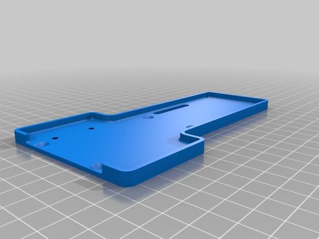 Support de Batterie 3D ou Support d'Accus 3D pour Scale et Crawler 1/10 M7d11