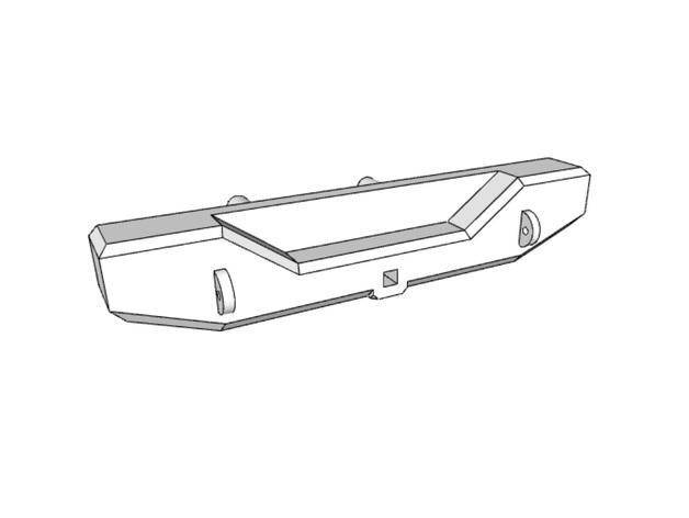 Parechoc 3D avec Attache Remorque 3D pour Scx10 et autres Scale et Crawler 1/10 M8a12