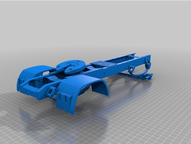 Chassis 3D pour Scale et Crawler 1/10 M8a15