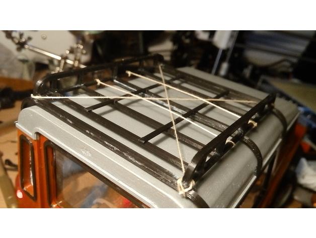 Galerie de toit 3D et Porte Bagage 3D pour Scale et Crawler 1/10 M8b12