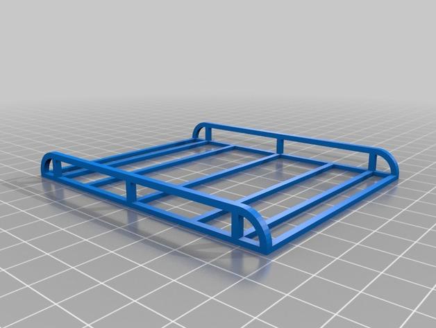 Galerie de toit 3D et Porte Bagage 3D pour Scale et Crawler 1/10 M8c11