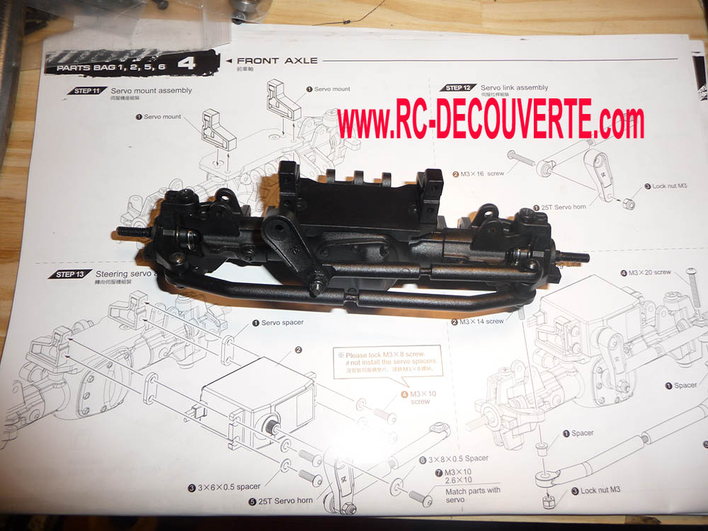 Montage MST CMX Kit : Jeep & Hummer - Page 2 Mst-cm15