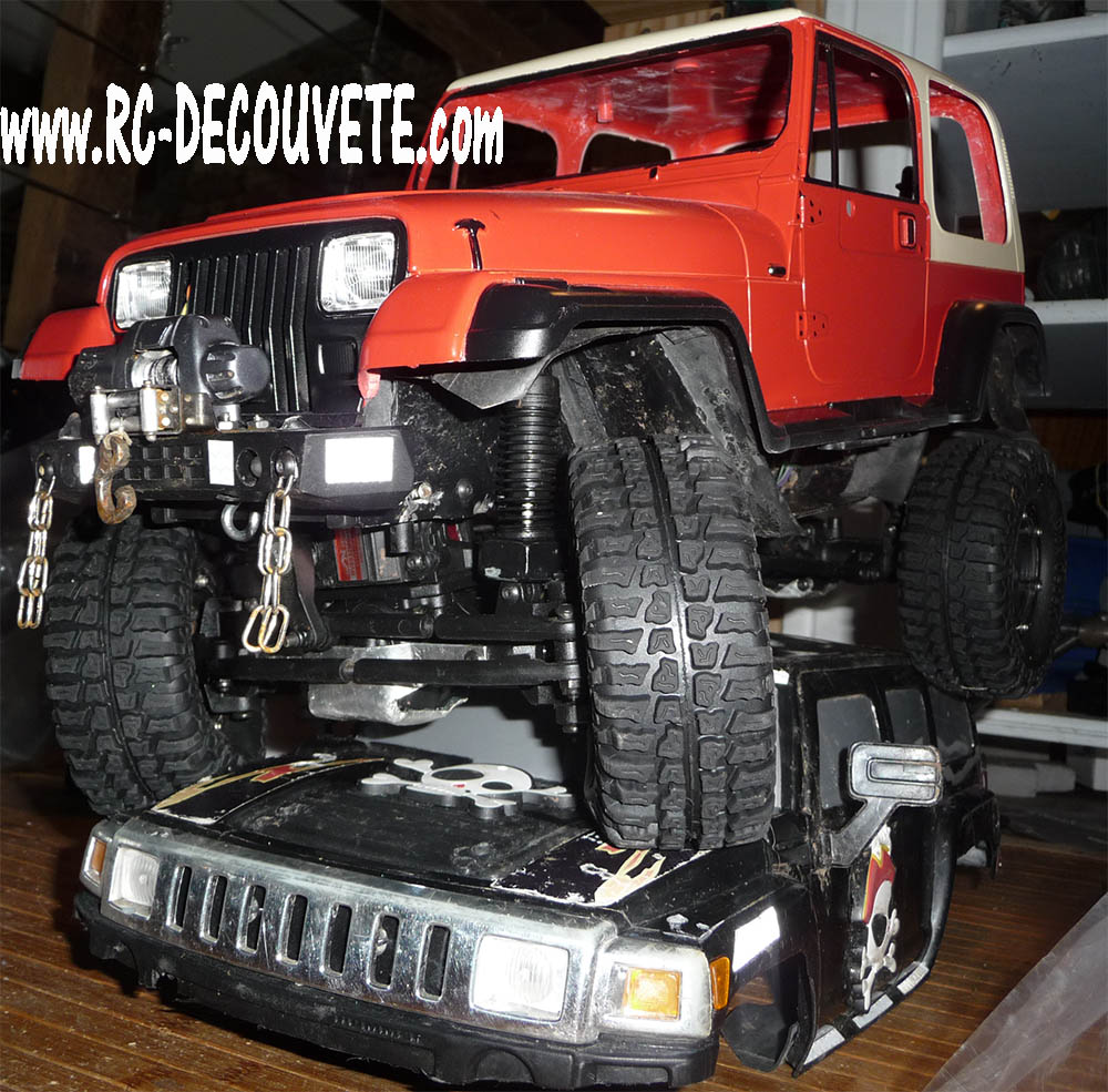 Montage MST CMX Kit : Jeep & Hummer - Page 8 Mst-cm21