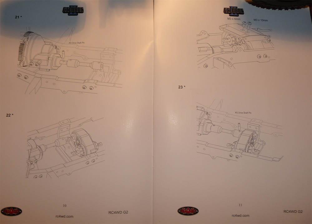 Rc4wd Gelande 2 Land Rover Defender D90 : Présentation et Modification Notice10