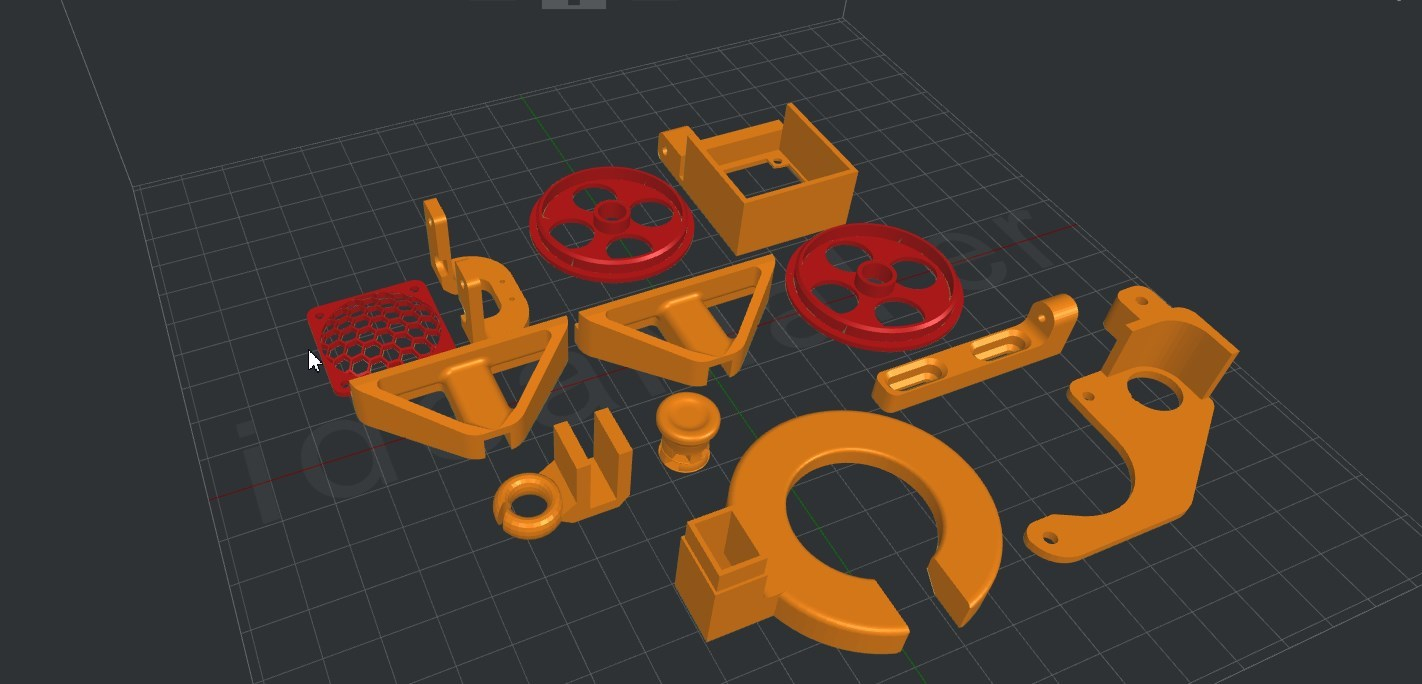 Anet A8 : Installation, Paramétrage et Configuration de mon Imprimante 3D Piyces11
