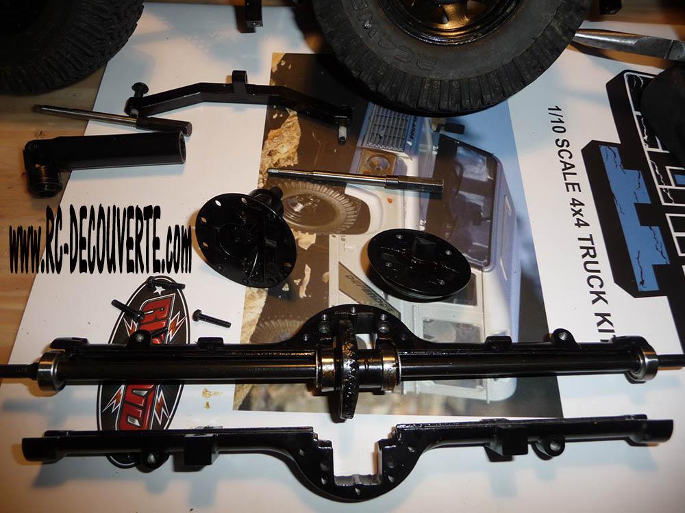 Rc4wd Gelande 2 Land Rover Defender D90 : Présentation et Modification Pont-a11