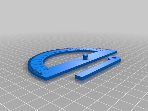 Equerre et Rapporteur d'Angle 3D Rappor10