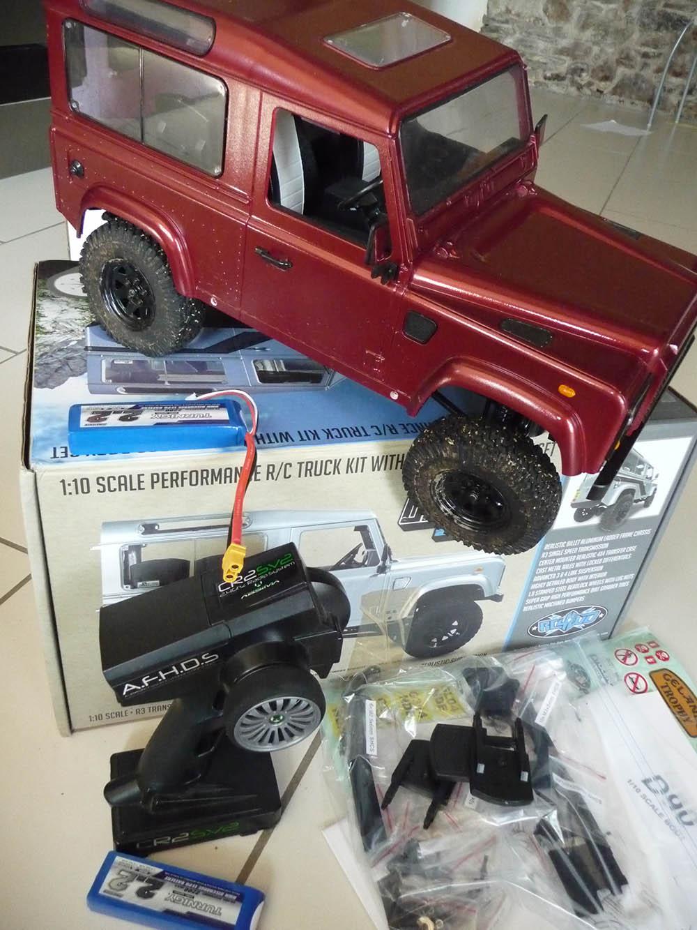 Rc4wd Gelande 2 Land Rover Defender D90 : Présentation et Modification Rc4wd-10
