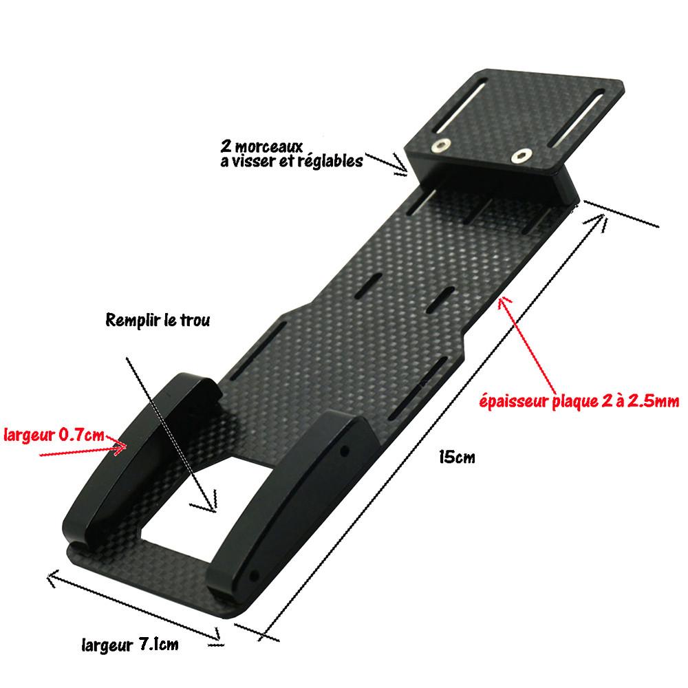 Fabrication support de batterie 3D pour SCX10 II Servo-14
