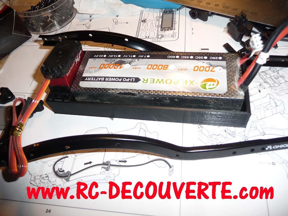 Fabrication support de batterie 3D pour SCX10 II Suppor12