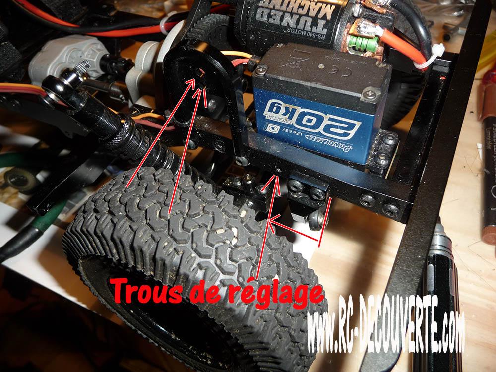 Rc4wd Gelande 2 Land Rover Defender D90 : Présentation et Modification Trous-10