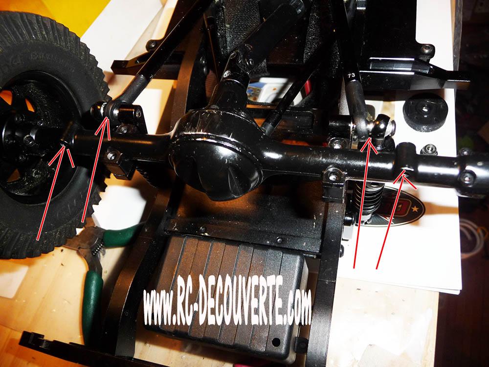 Rc4wd Gelande 2 Land Rover Defender D90 : Présentation et Modification Trous-11