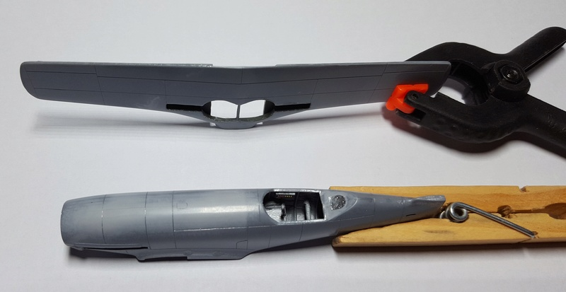 [Special Hobby] Messerschmitt Me 209V1, 1/72 - fini 20180518