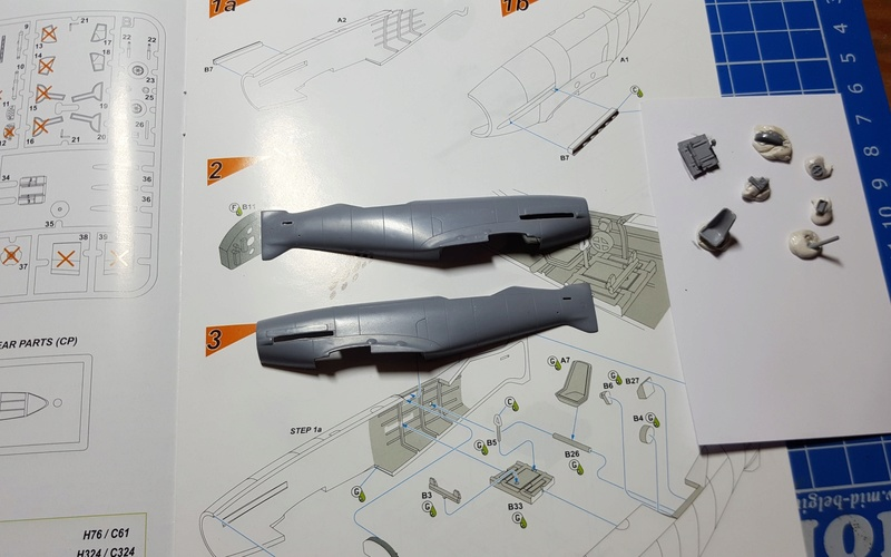 [Special Hobby] Messerschmitt Me 209V1, 1/72 - fini 210