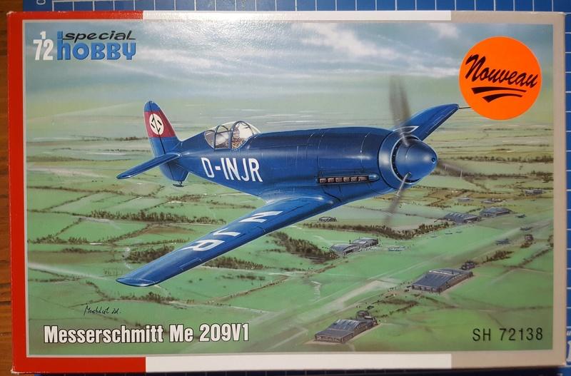 [Special Hobby] Messerschmitt Me 209V1, 1/72 - fini Me20910
