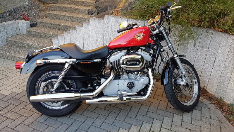 Première Harley - premières modifs 20181110