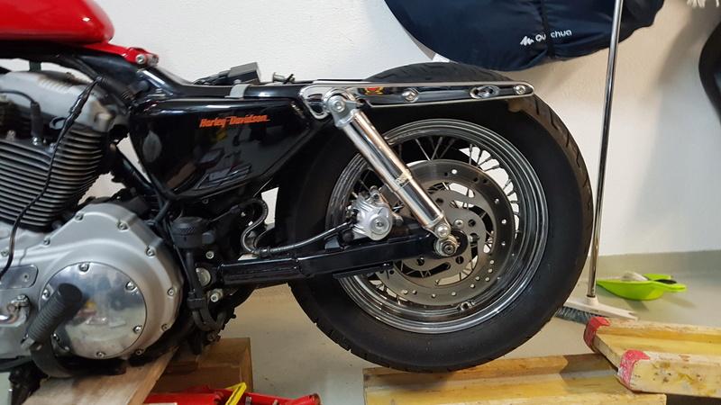 Première Harley - premières modifs 20181111