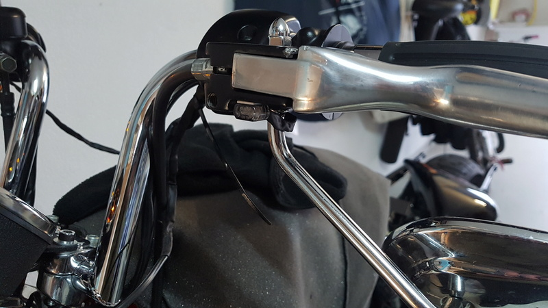Première Harley - premières modifs 20181210