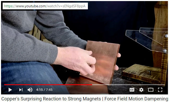 Copper's Surprising Reaction to Strong Magnets Synchr10