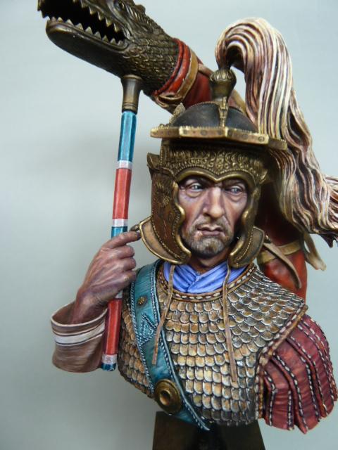 Buste  soldat Romain , 200mm , Alexandros Models . P1100059