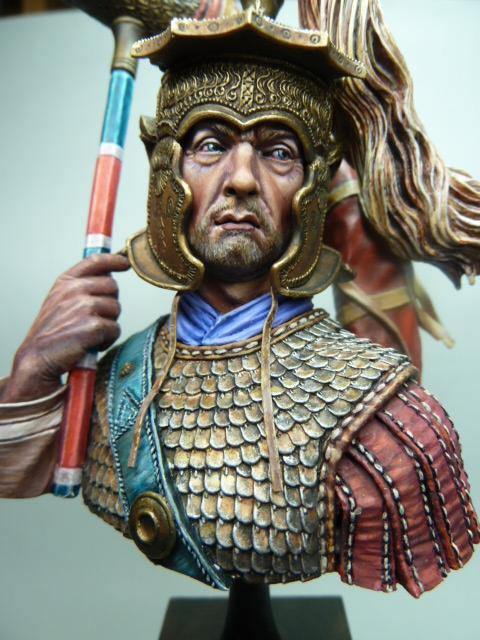 Buste  soldat Romain , 200mm , Alexandros Models . P1100060