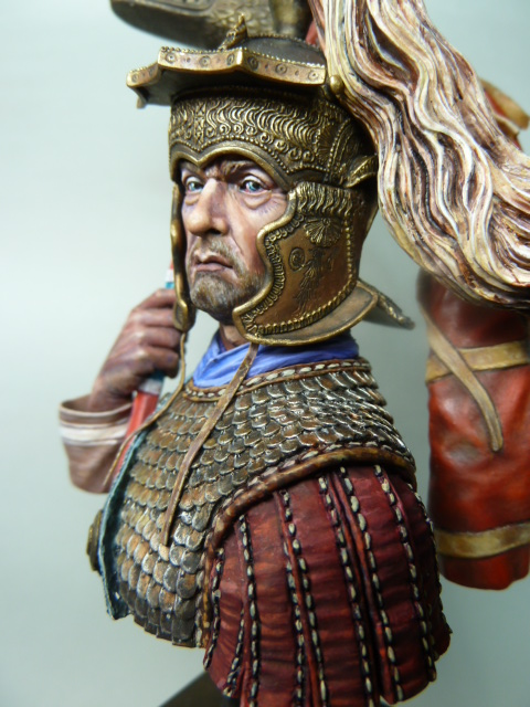 Buste  soldat Romain , 200mm , Alexandros Models . P1100061