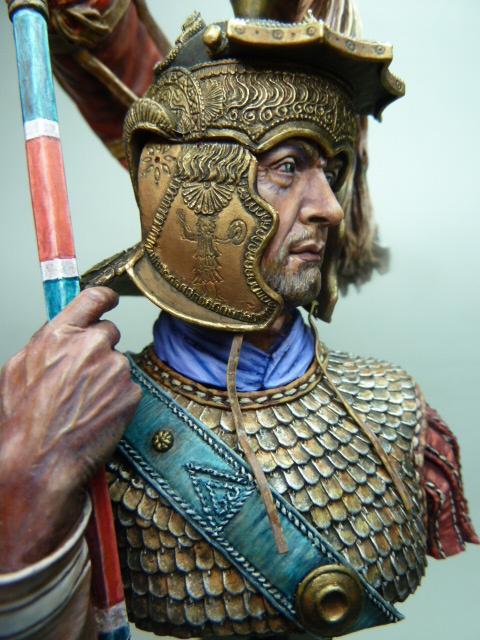 Buste  soldat Romain , 200mm , Alexandros Models . P1100062