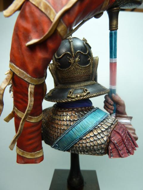 Buste  soldat Romain , 200mm , Alexandros Models . P1100063