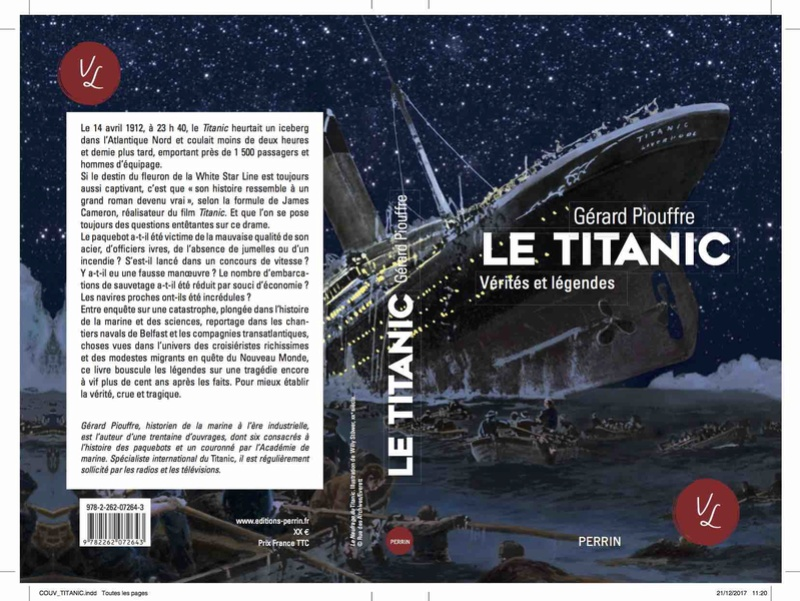 Le Titanic, Vérités et Légendes Couv_t10