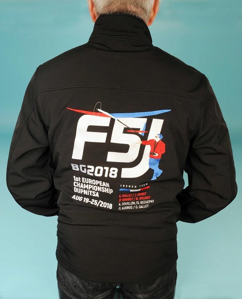 Ouverture de la Boutique French Team F5J Veste_11