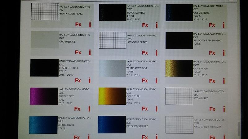code peinture harley davidson 20180521