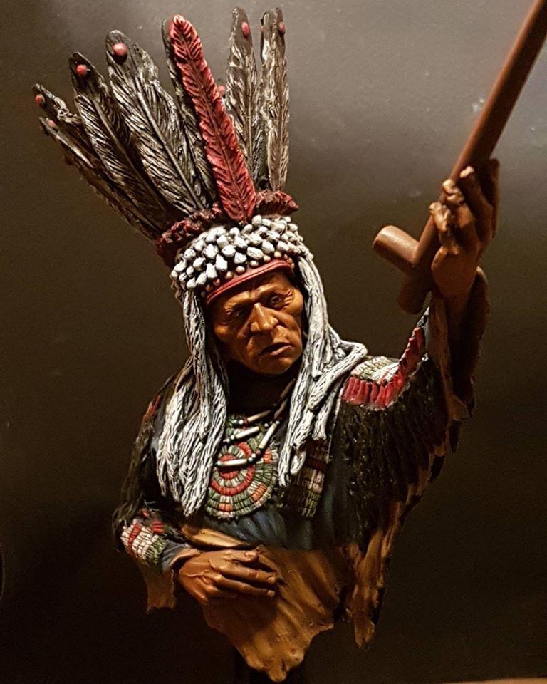 Guerrier Blackfoot SK miniatures 19260210