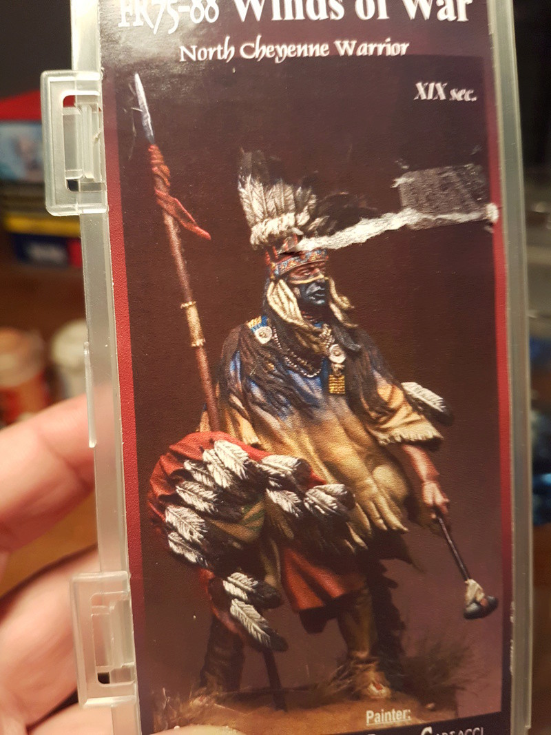 Guerrier Cheyenne du nord 20180323