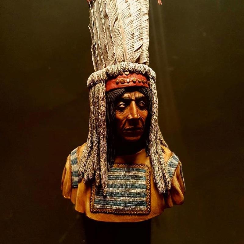 Buste d'indien blackfeet  23844810
